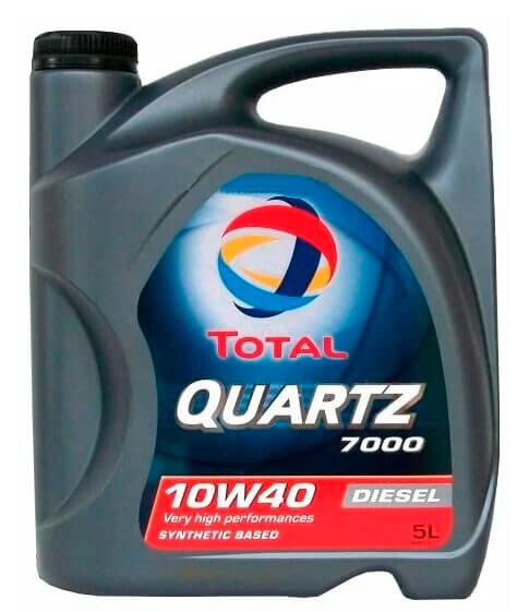 TOTAL Quartz Diesel 7000 10W40 5 л