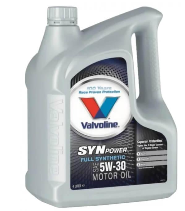 VALVOLINE SynPower 5W-30 4 л