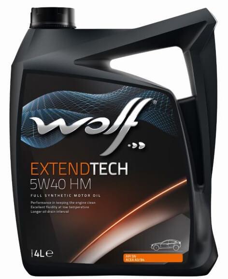 Wolf ExtendTech 5W-40 HM 4 л