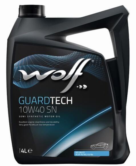 Wolf GuardTech 10W-40 SN 4 л