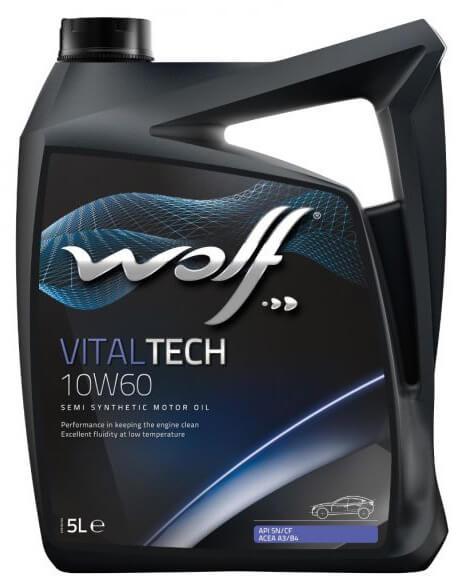 Wolf VitalTech 10W-60 5 л