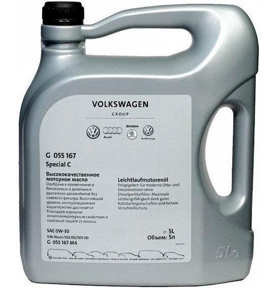 Моторное масло Volkswagen Special C 0W-30 5 л