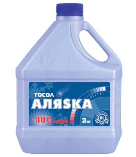 Аляsка Тосол -40°C 3 кг