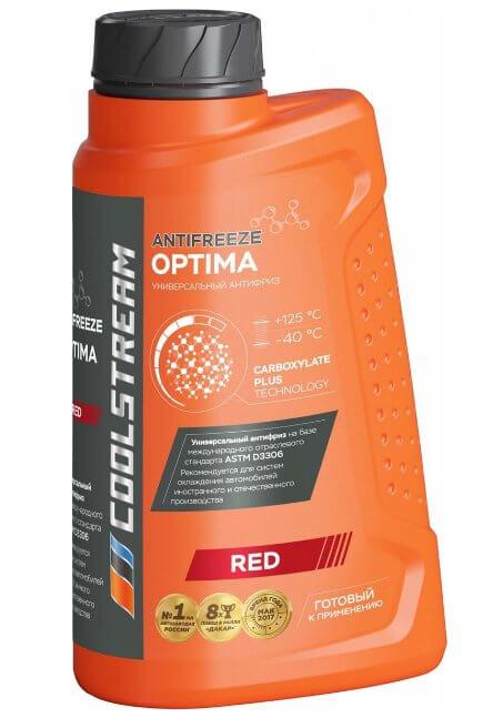 Антифриз Coolstream Optima Red