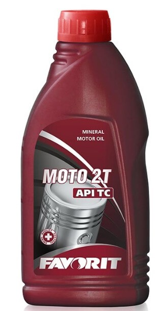 Favorit Moto 2T API TC, 0.5л