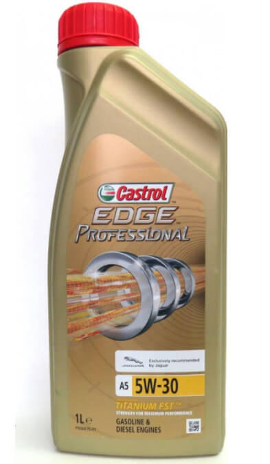 CASTROL EDGE Professional A5 5W-30 Titanium Jaguar 1 л