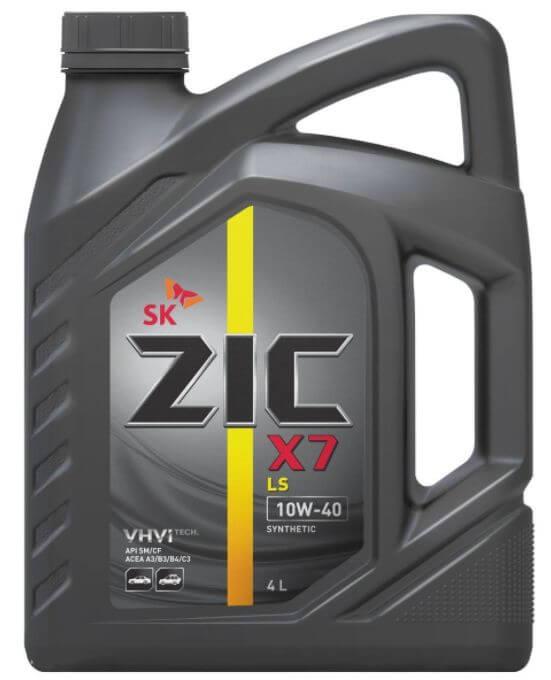 ZIC X7 LS 10W-40 API SM/CF 4 л