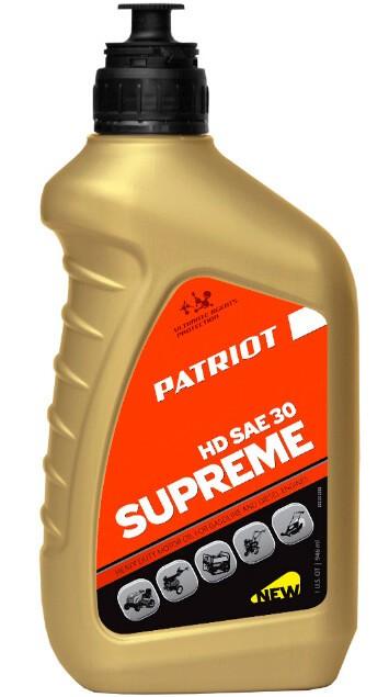 PATRIOT SUPREME HD SAE 30 4Т 0,946 л