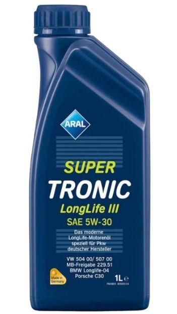 ARAL Super Tronic Longlife III SAE 5W-30 1 л