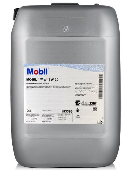 MOBIL 1 X1 5W-30 20 л