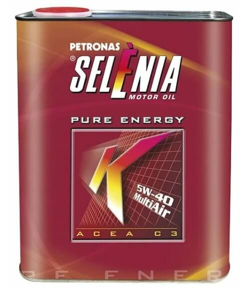 Selenia K Pure Energy 5W-40 2 л