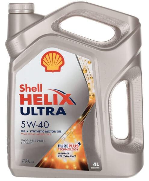 SHELL Helix Ultra 5W-40 4 л