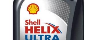 SHELL Helix Ultra SN 0W-20 1 л