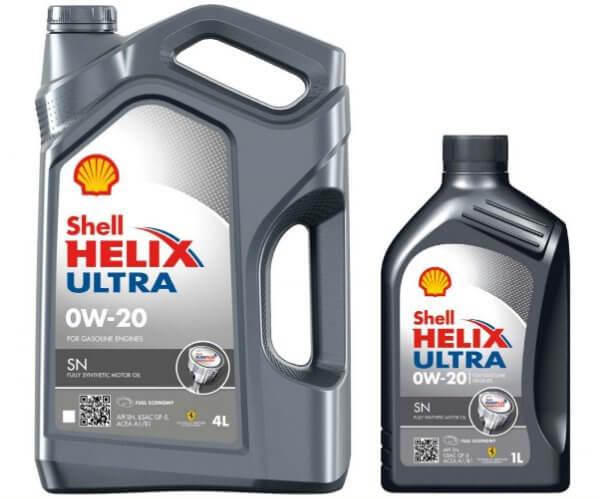 SHELL Helix Ultra 0W20