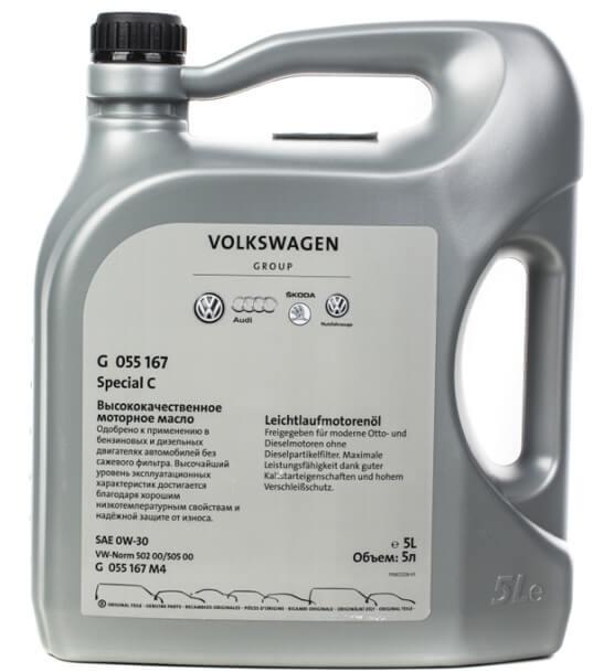 VOLKSWAGEN Special C 0W-30 5 л