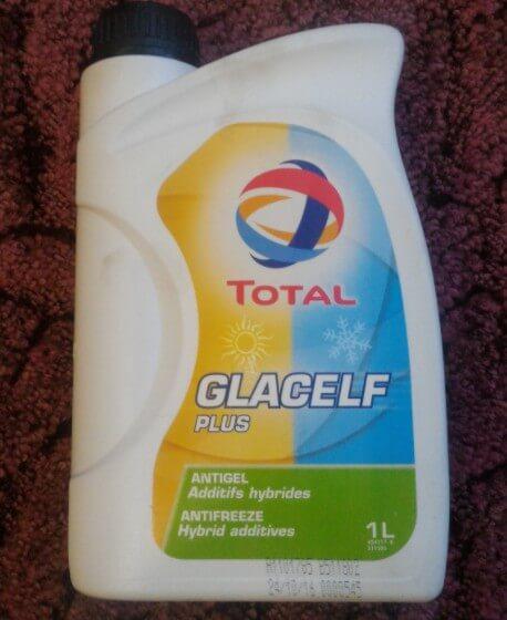 Антифриз TOTAL Glacelf Plus, 1 кг