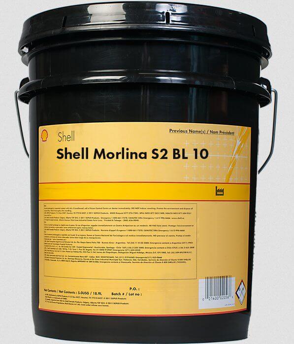 Масло SHELL Morlina S2 BL 10 18,9 л