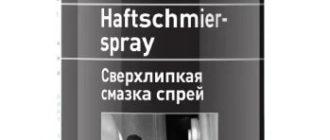 Смазка для мототехники LIQUI MOLY Haftschmier
