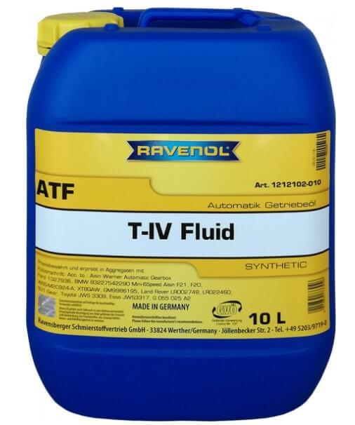 RAVENOL ATF T-IV Fluid 10 л