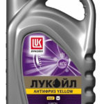Лукойл Yellow G12 готовый -40C жёлтый 5 л