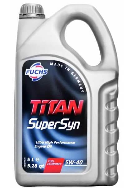 FUCHS Titan SuperSyn 5W-40 5 л