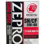 IDEMITSU Zepro Euro Spec 5W-40 4 л