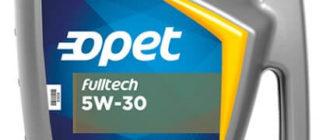 Opet Fulltech 5W-30 5 л