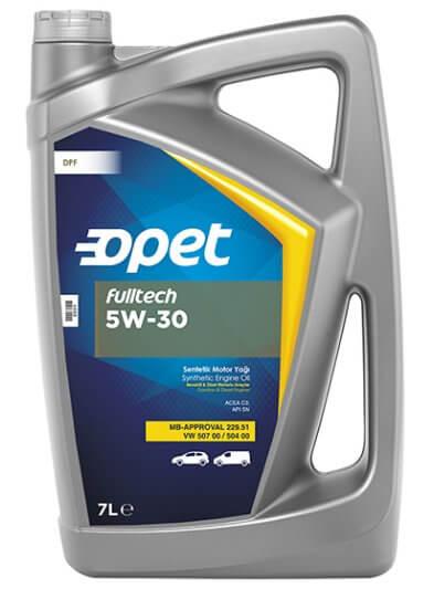 Opet Fulltech 5W-30 7 л