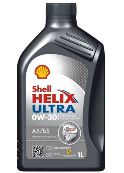 SHELL Helix Ultra A5/B5 0W-30 1 л