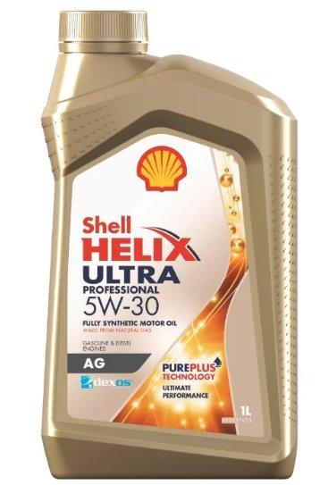 SHELL Helix Ultra Professional AG 5W-30 1 л