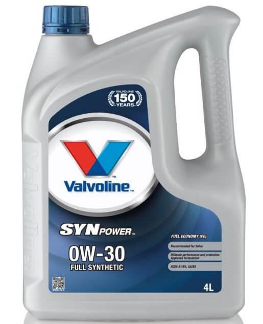 VALVOLINE SynPower FE 0W-30 4 л