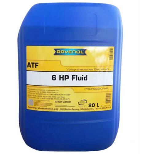 RAVENOL ATF 6 HP Fluid 20 л