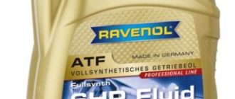 RAVENOL ATF 6 HP Fluid 4 л