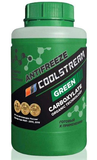 Антифриз Coolstream Green, 0,9 кг