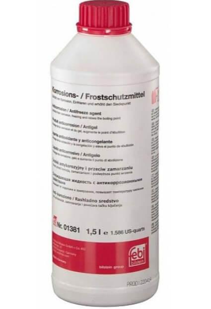 Антифриз концентрат красный FEBI Antifreeze G12