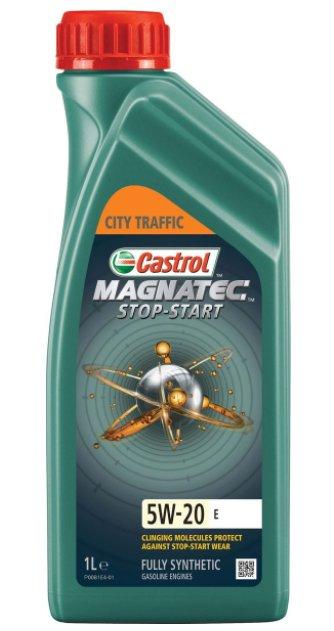 Castrol Magnatec Stop-Start E, синтетическое, класс вязкости 5W-20, 1 л