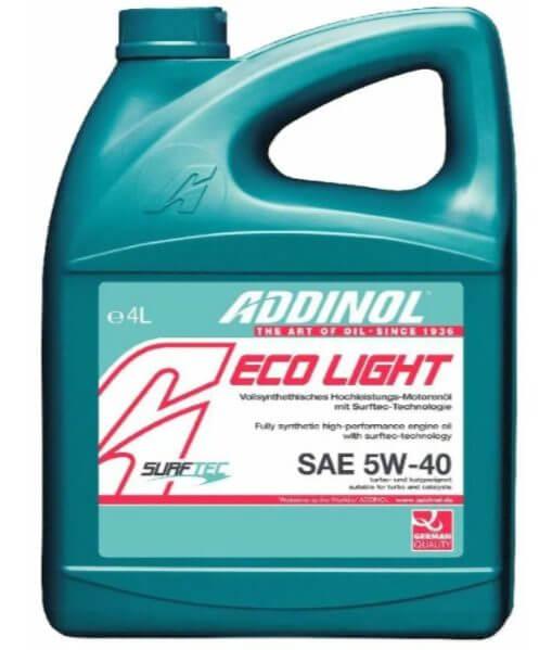 ADDINOL Eco Light SAE 5W-40 4 л
