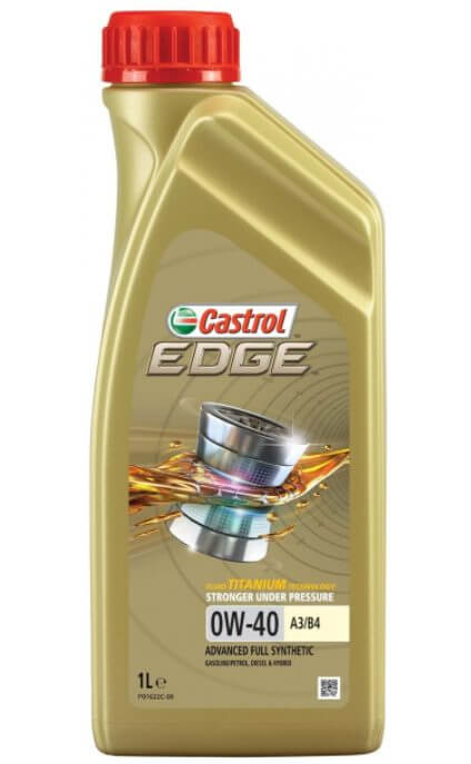 CASTROL Edge 0W-40 A3/B4 1 л