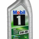 MOBIL 1 ESP 0W-40 1 л