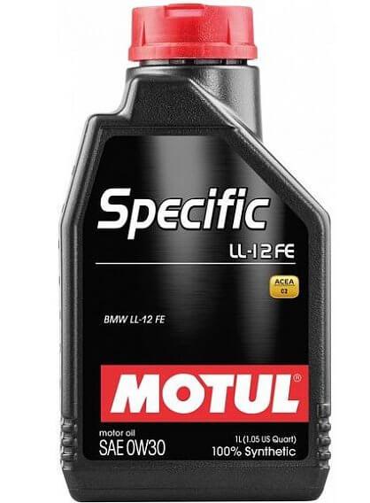 Motul Specific LL-12 FE 0W30 1 л