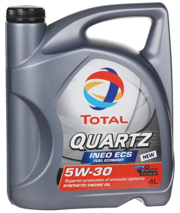 TOTAL QUARTZ INEO MC3 5W-30 4 л