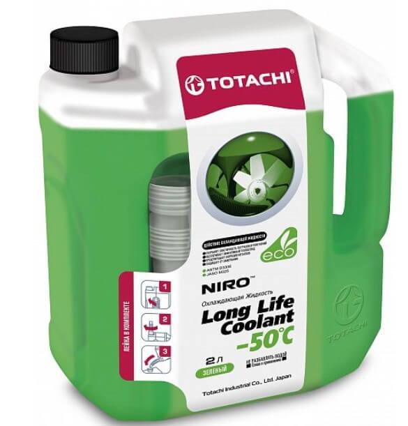 Антифриз TOTACHI Niro LLC Green -50