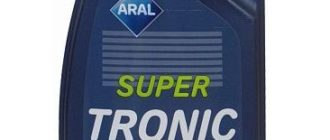 ARAL Super Tronic SAE 0W-40 1 л
