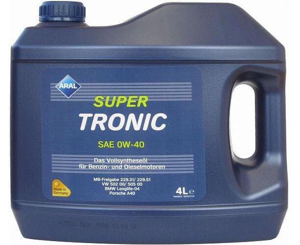 ARAL Super Tronic SAE 0W-40 4 л