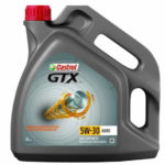 CASTROL GTX A5B5 5W30 синтетическое, 4 л