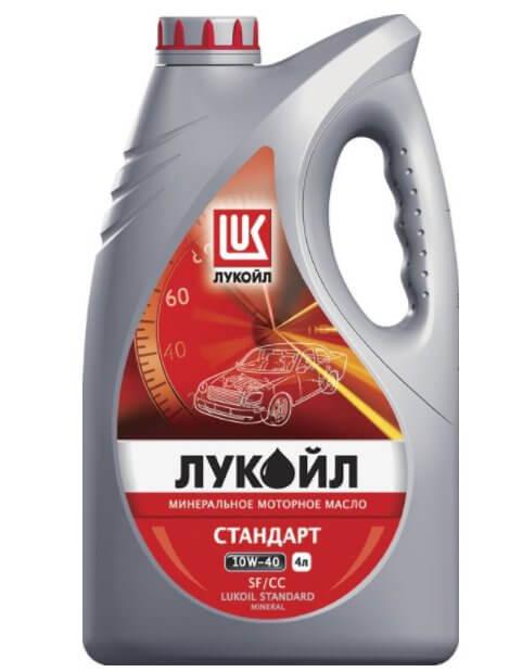 Лукойл Стандарт 10W-40 SF/CC 4 л