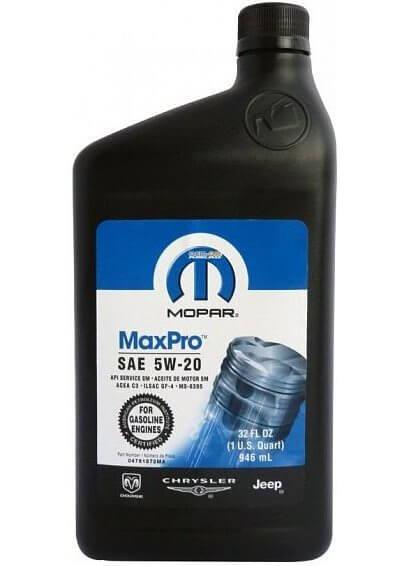 Mopar MaxPro SAE 5W-20 0,946 л