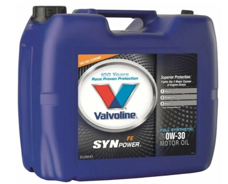 VALVOLINE SynPower FE 0W-30 20 л