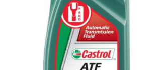 CASTROL ATF Dex II Multivehicle, минеральное, 1 л