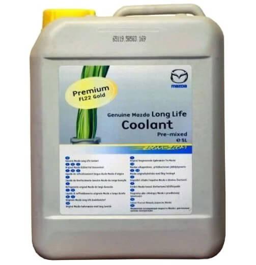 Антифриз зеленый готовый Coolant FL22 ,5 л